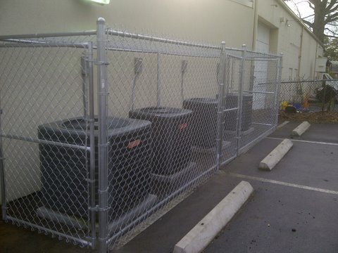 Chain Link Fence Columbia Sc All American Fence Service